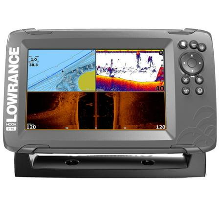 Lowrance Hook-2 7X Inch GPS Tripleshot