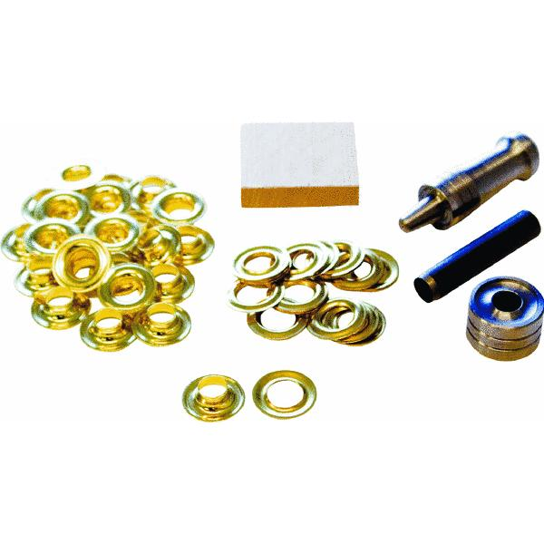 Lord and Hodge Inc. #2 Brass Handi-Grommet Kits, 24pk