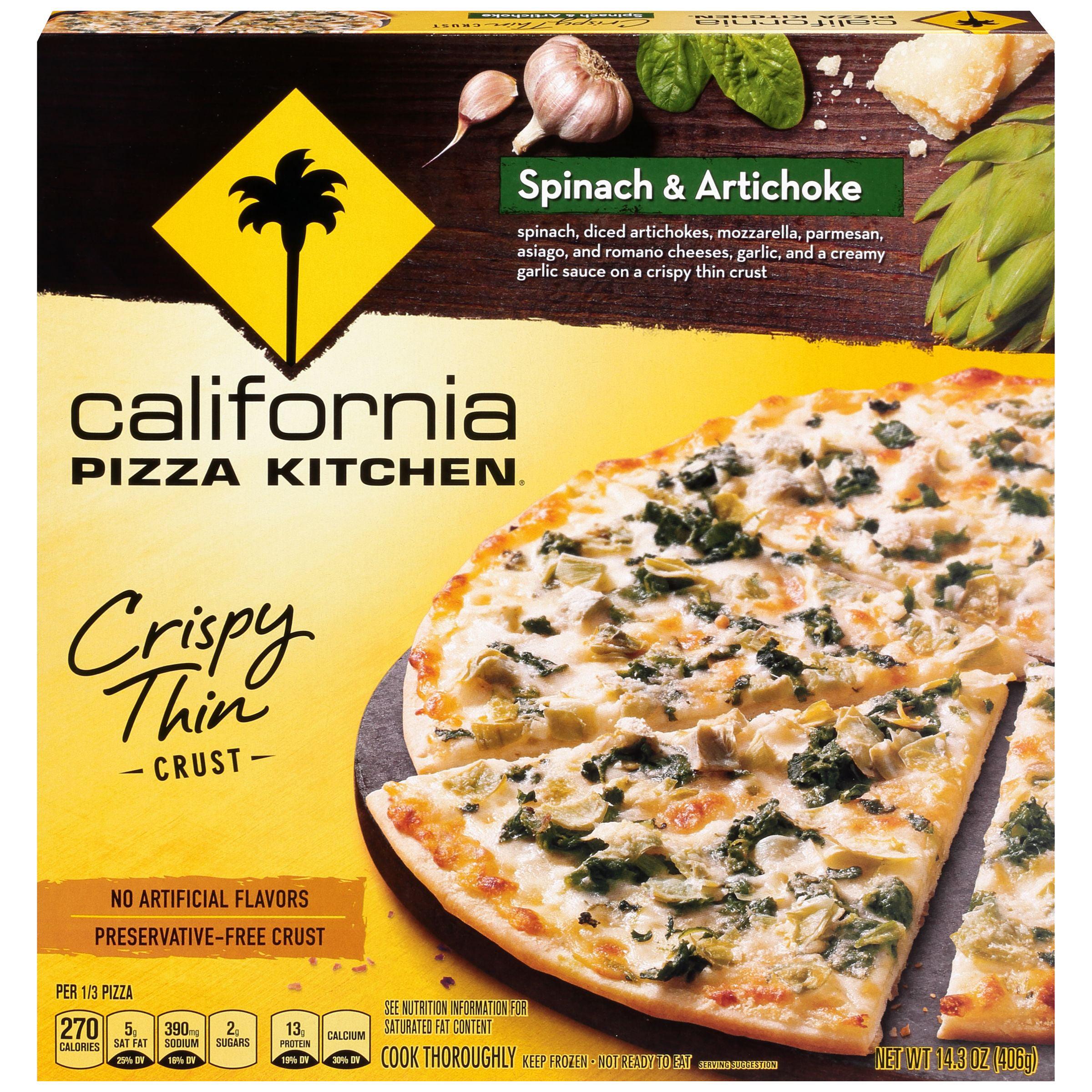 California Pizza Kitchen Nutrition Frozen Wow Blog