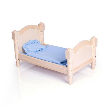 Guidecraft Doll Bed Natural Walmart Com