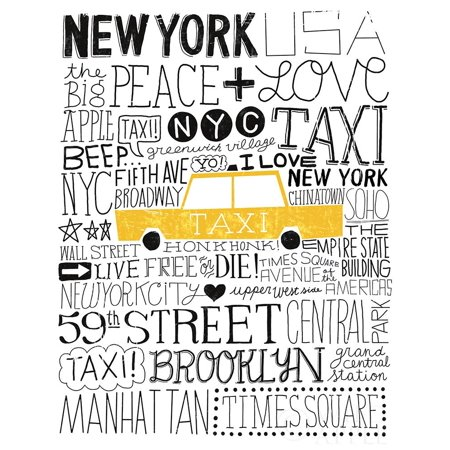 Iconic Nyc Iii Poster Print by Michael Mullan (Michaels Craft Store Nyc)