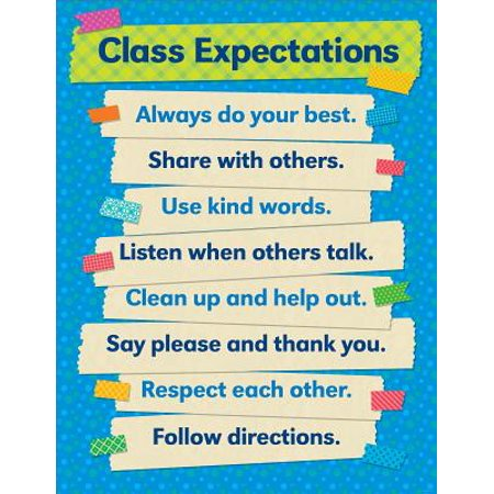 TAPE IT UP CLASS EXPECTATIONS