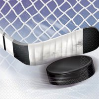 NHL Ice Time! Beverage Napkin (16 Count)