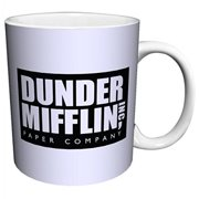 Dunder Mifflin (The Office) World's Best Boss TV Television Show Ceramic Gift Coffee (Tea, Cocoa) Mug, 11 Ounce