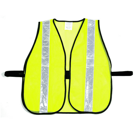 - RK Safety Vest with Reflective Stripes - Neon Yellow / 50- Pack