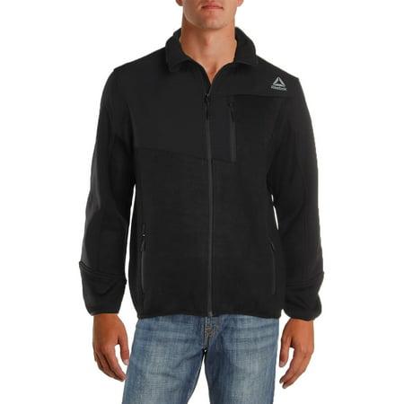 - Reebok Mens Spyder Sweater Fleece Lightweight Soft Shell Jacket