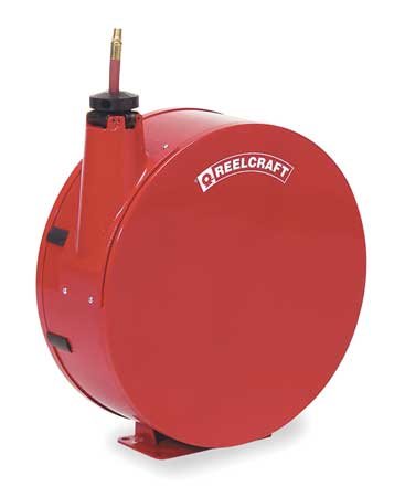 REELCRAFT 7850 ELP1 Hose Reel, 1 2 In., 50 ft. L, 300 psi, 150F by Reelcraft