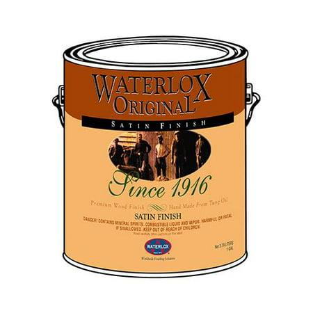 Original Finish (Waterlox Original TB 6035 25 Voc Compliant 1 Quart, Satin Finish)