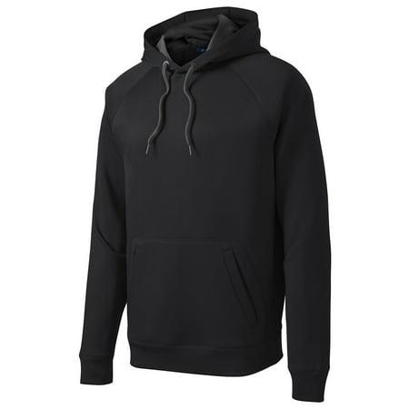 Sport-Tek Men's Tech Fleece Athletic Hooded Sweatshirt