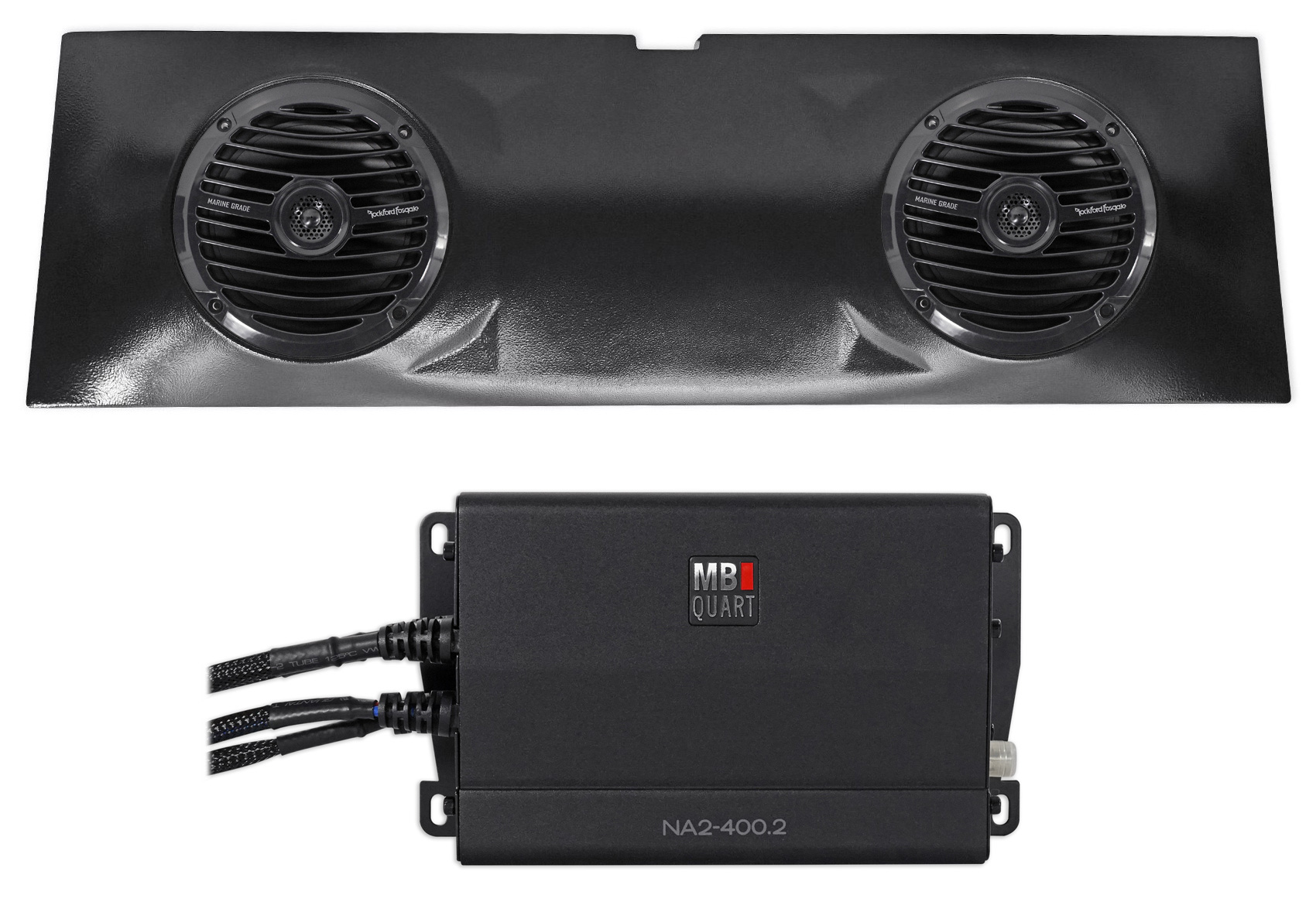 "SSV Works 2015-2017 POLARIS RZR XP1000//XP900 2 Seater 6.5/"" Overhead Speaker Pod"