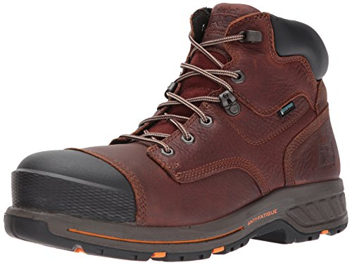 """Timberland PRO Men's Helix HD 6"""" Composite Toe Waterproof Industrial and Construction Shoe, Tempest Full Grain... by Timberland PRO"""