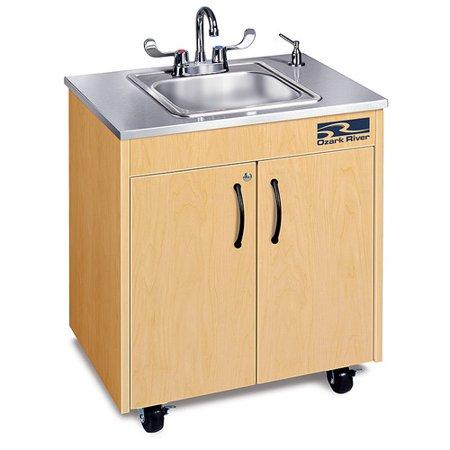 Ozark River Portable Sinks Ozark River Portable Sinks Silver Lil' Premier (Premier One Portable Sink)