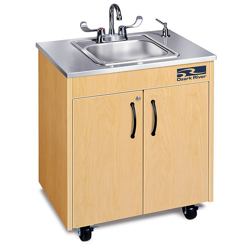 Ozark River Portable Sinks Ozark River Portable Sinks Silver Lil' Premier 1