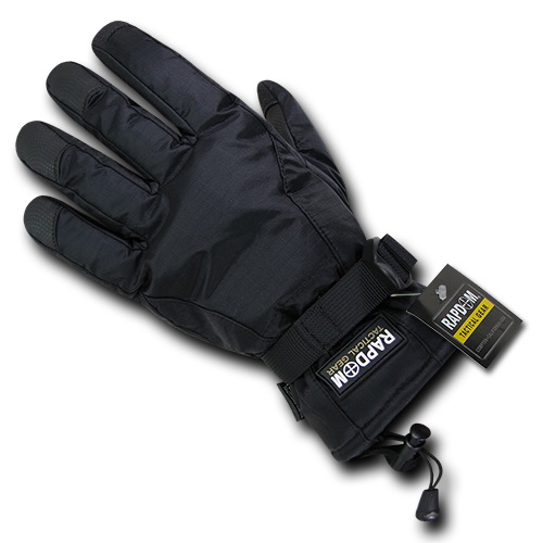 Rapid Dominance T57 Breathable Winter Gloves-Black-S by Rapid Dominance