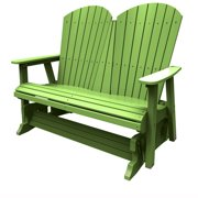 Double Glider by Malibu Outdoor - Hyannis, Lime