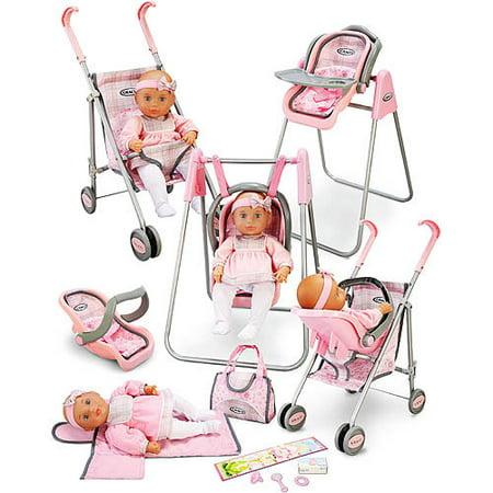 My Sweet Love Graco Baby Doll Playset Walmart Com
