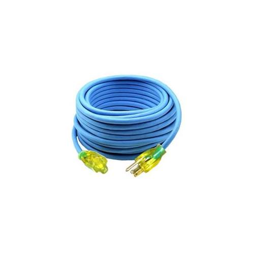 Bayco BYSL-991 50 ft.  Extension Cord 16-3 Gauge 13 Amp with Safety Lit End