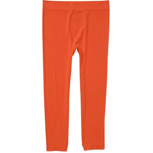 No Boundaries Juniors Knit Seamless Cropped Legging, 2-Pack