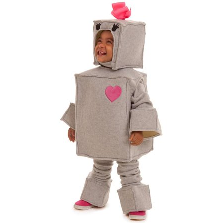 Rosalie the Robot Toddler Halloween Costume, Size 2T