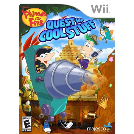 Phineas and Ferb Quest for Cool Stuff (Wii)