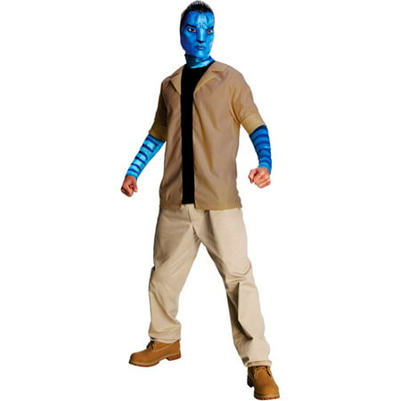 Avatar Jake Sully Adult Halloween Costume - Sully Monsters Inc Adult Costume