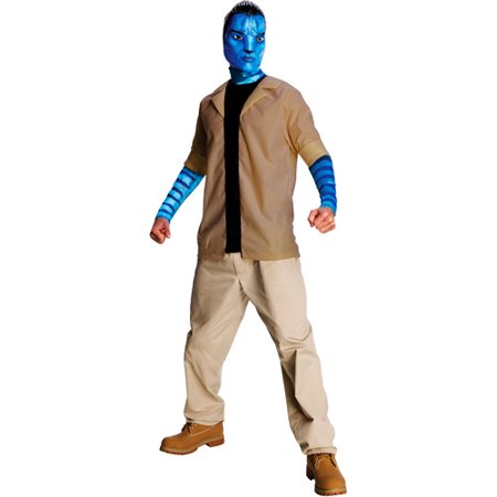 Avatar Jake Sully Adult Halloween Costume](Avatar Na Vi Costume)