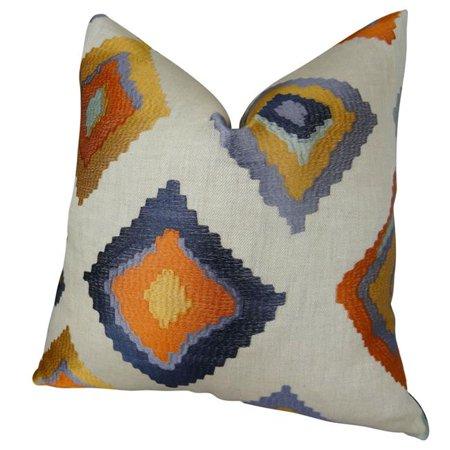 "Plutus Native Trail Cayenne Handmade Throw Pillow, (18"" x 18"") - image 4 de 4"