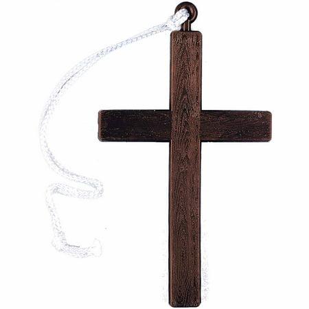 Monk's Cross Adult Halloween Accessory - Halloween Cross