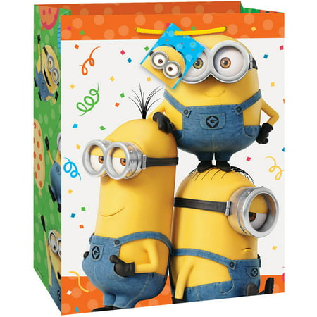 Despicable Me Minions Gift Bag, 13 x 10.5 in, 1ct](Minion Gift Bags)