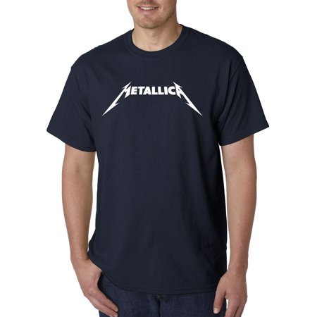 New Way 925 - Unisex T-Shirt Metallica Metal Rock Band Logo 3XL - Paramore Band Shirts