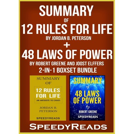 Summary of 12 Rules for Life: An Antidote to Chaos by Jordan B. Peterson + Summary of 48 Laws of Power by Robert Greene and Joost Elffers 2-in-1 Boxset Bundle - eBook (Robert Jordan Book 10)