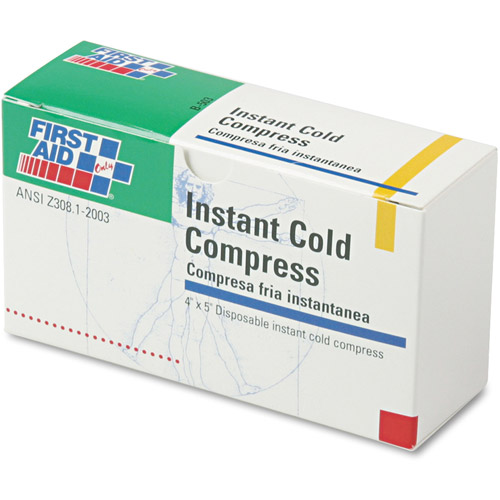 First Aid Only Instant Cold Compress, 5 count