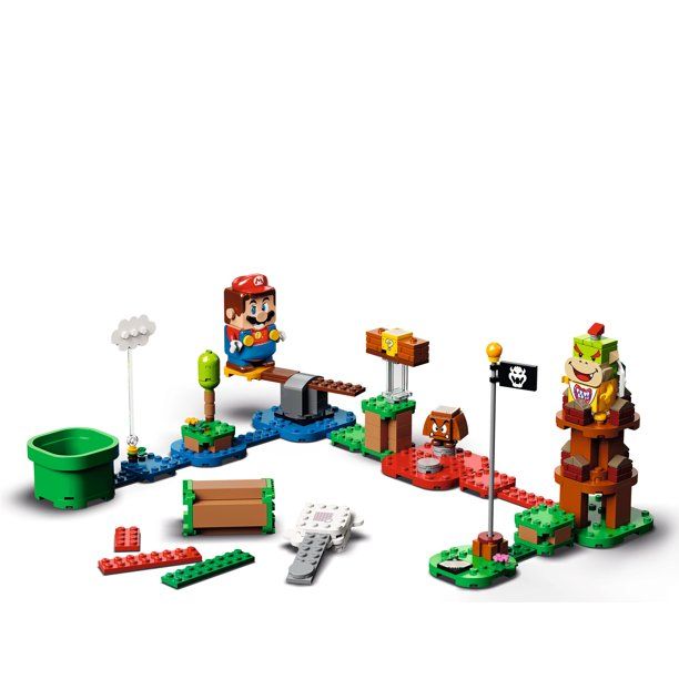 LEGO Super Mario Adventures with Mario Starter Course 71360 Building Kit, Collectible, Creative Gift Toy for Kids (231 Pieces) - Walmart.com - Walmart.com