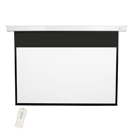 - Loch High Contrast Gray 92'' diagonal Electric Projection Screen