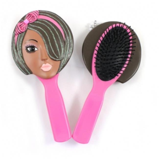 Jacki Design JGS22537PK Nina Style Hair Brush, Pink