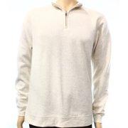 f8fd379d John Ashford Mens Quarter-Zip Sweatshirt
