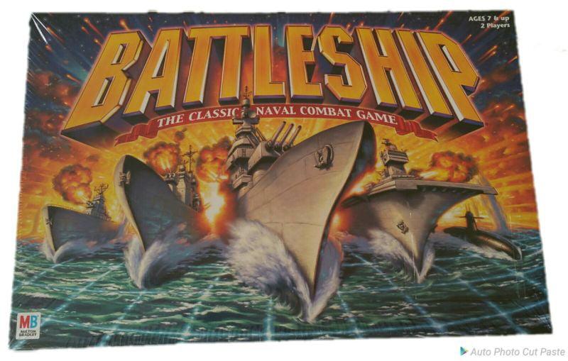 New Battleship Board Game 2002 Milton Bradley Hasbro Navy War Combat by