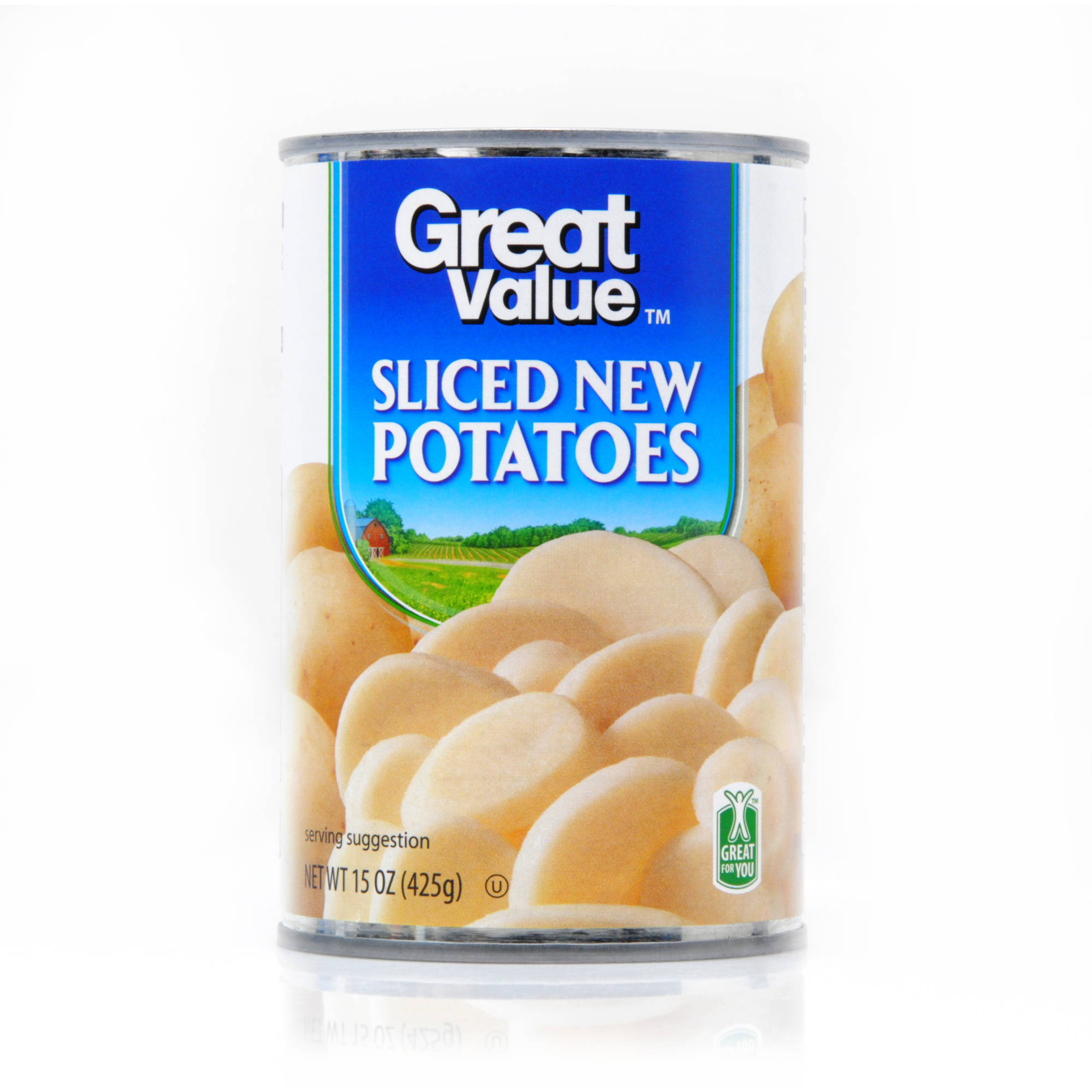 Great Value: Sliced New Potatoes, 15 Oz