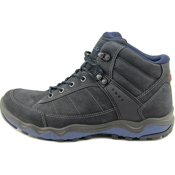 fd030a86f3e17 ecco - ecco men's ulterra dhaka mid boot,black/denim blue nubuck ...