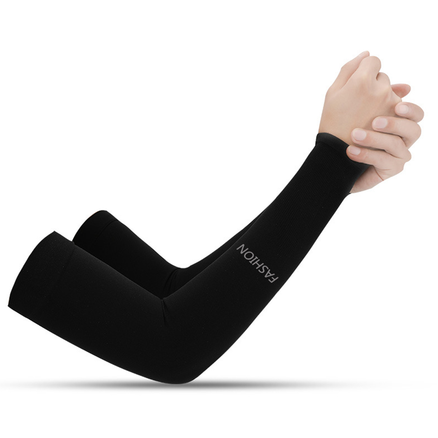 Men Cooling Arm Sleeves Cover Cycling Run Fishing UV Sun Protection Outdoor CA