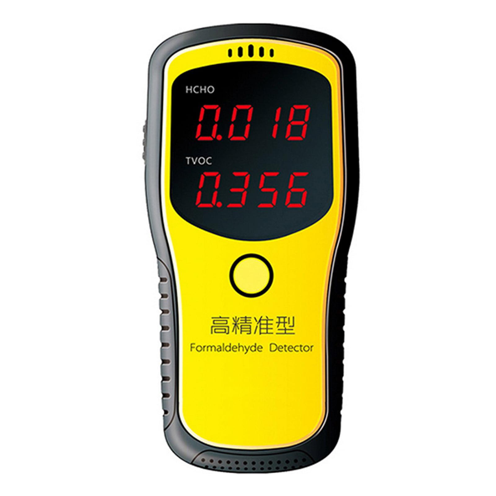 Portable Digital Air Analyzer Dust Sensor Air Pollution Detection Device InLoveArts Handhold Air Quality Detector Formald/éhyde TVOC HCHO CO2 Gas Monitor