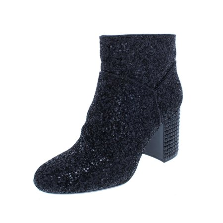 MICHAEL Michael Kors Womens Arabella Glitter Fashion Ankle Boots (Michael Kors Boots For Big Kids)