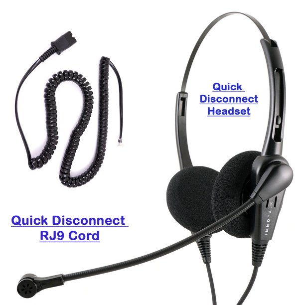 Cisco 8941 8945 8961 9951 9971 Phone Headset And Adapter Package Cost Effective Call Center Binaural Headset Walmart Com Walmart Com