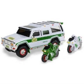 Cube Utility Truck (Hess Sport Utility Vehicle and Motorcycles (2004 Hess Toy Truck) )