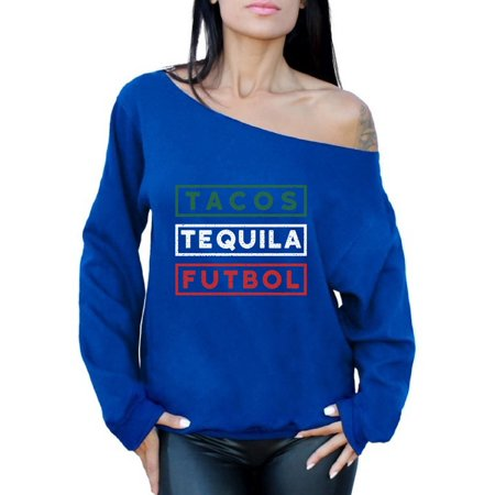 a550b3106d0 Awkward Styles Tacos Tequila Futbol Off the Shoulder T Shirt Tops Mexico  Shirt Tacos and Tequila Futbol Lover T Shirts Womens Mexican Soccer Tee  Shirt Tacos ...