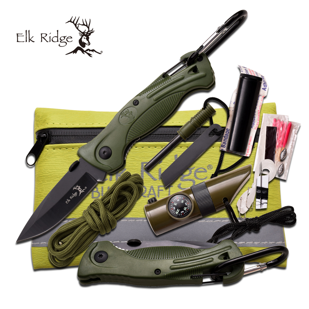 Click here to buy Elk Ridge Survival Kit by Master Cutlery.
