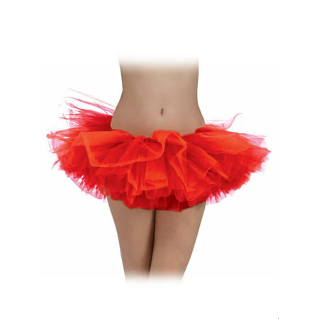 Red Adult Tutu Halloween Costume](Homemade Halloween Costume Ideas With Tutus)