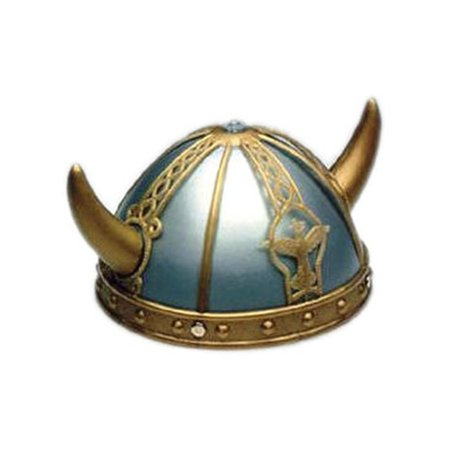 Adult/Child Costume Accessory Viking Helmet and Horns (Costume Horn)