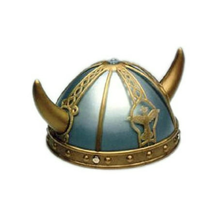 Adult/Child Costume Accessory Viking Helmet and Horns (Toy Viking Helmet)