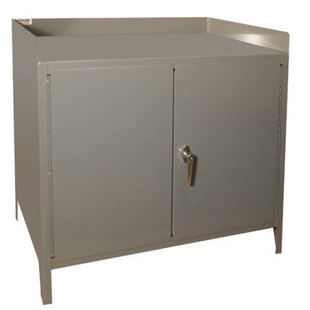 Durham Manufacturing 35.5'' H x 36'' W x 24'' D Secure Mobile Bench Cabinet (Manufacturing Mobile)